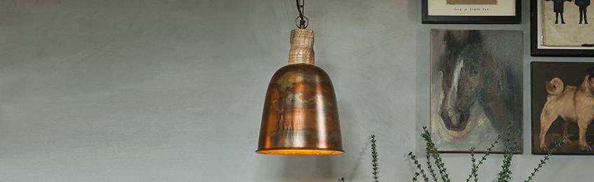 Kupfer Lampe