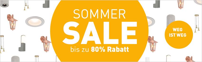 Sommer-Sale bei lampenundleuchten!