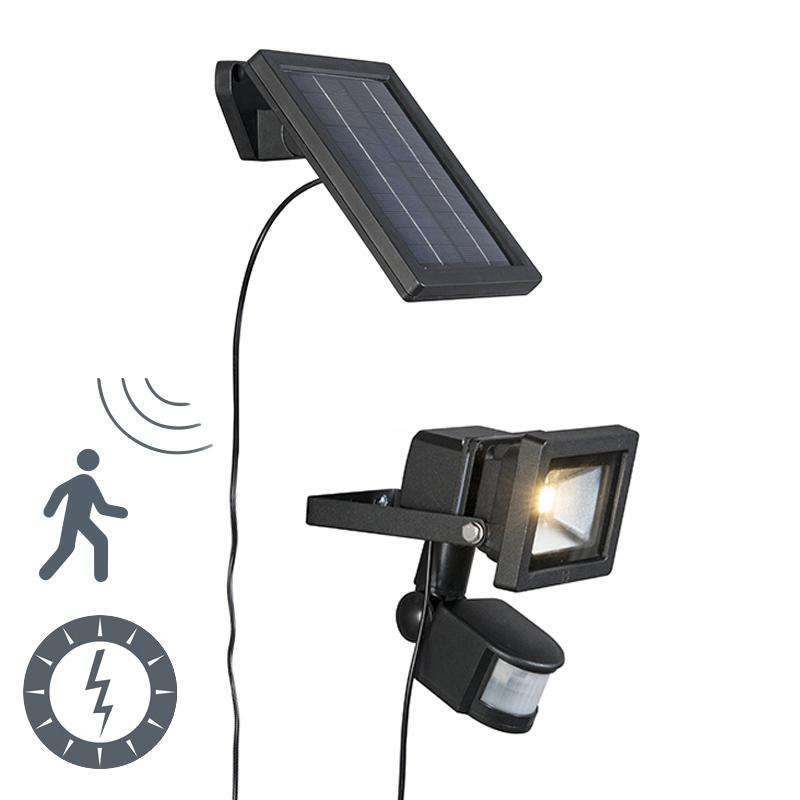 Außenleuchte Sunny LED-Strahler mit Bewegungsmelder Solar ...