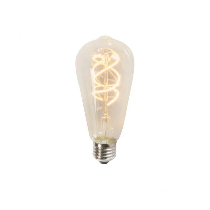 LED-Fadenlampe-ST64-5W-2200K-klar-warmweiß
