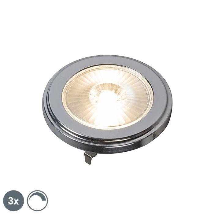 3er-Set-G53-dimmbare-AR111-LED-Lampen-10W-800LM-3000K