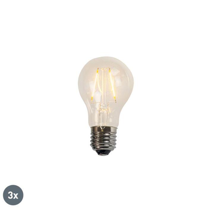 3er-Set-LED-Glühlampen-A60-2W-2200K-klar
