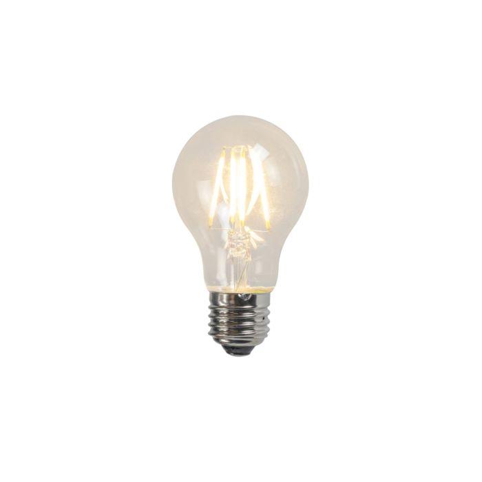 LED-Glühlampe-A60-4W-2700K-klar-3er-Set