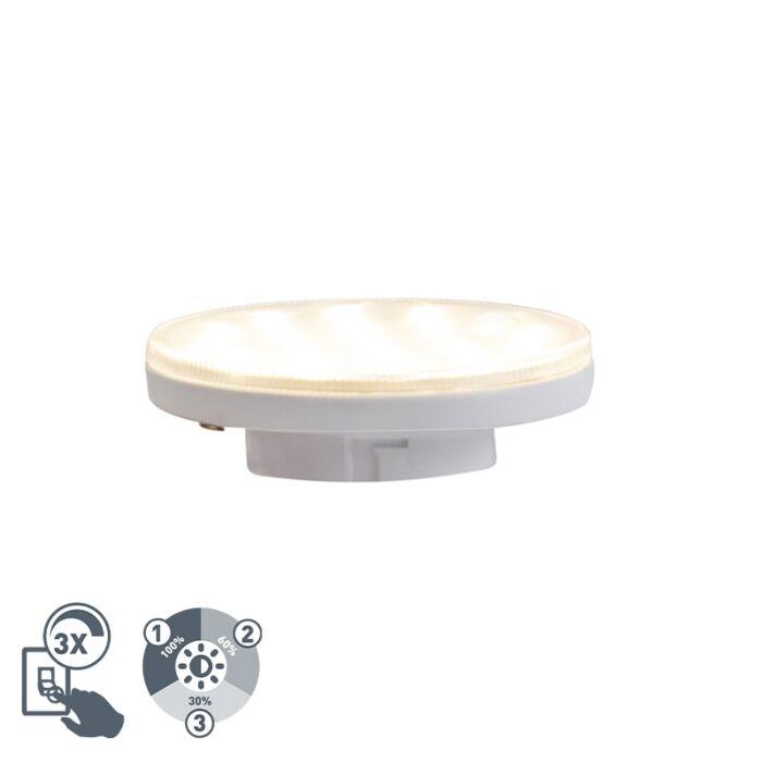 GX53-3-stufige-dimmbare-LED-Lampe-3W-350-lm