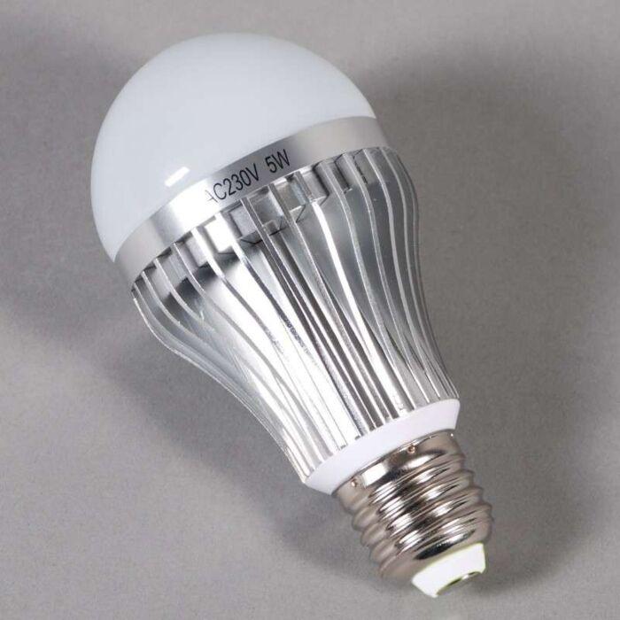LED-Leuchtmittel-E27-5W-=-45W-Licht