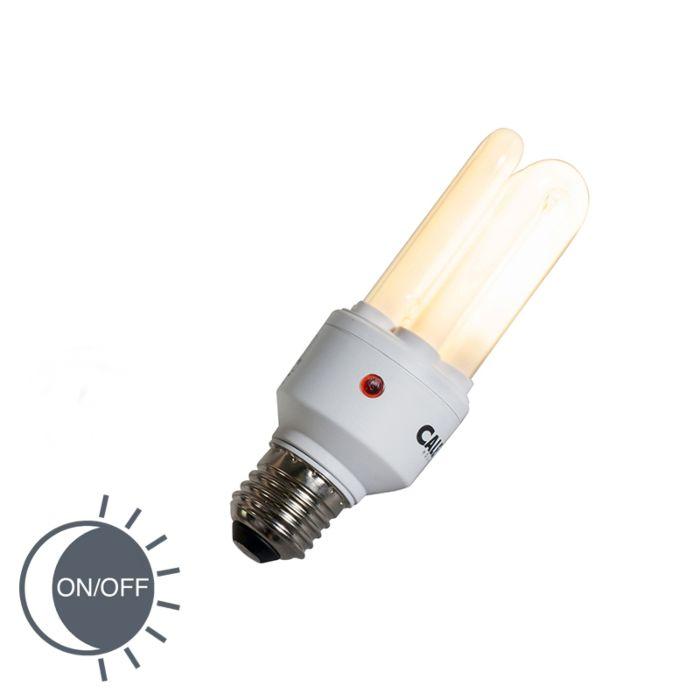 Sensor-Halogenleuchtmittel-E27-15W-3U-T4-2700K