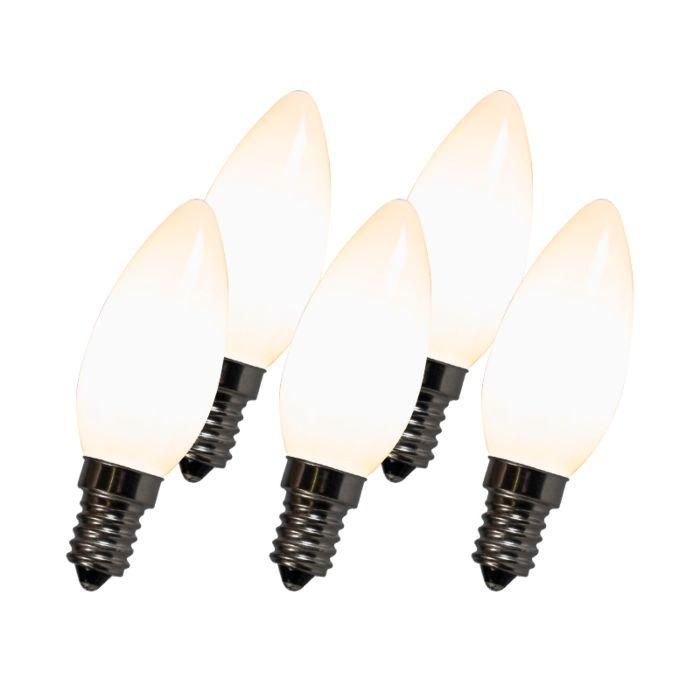 Filament-LED-lamp-C35-E14-2W-2700K-weiß-5er-Set