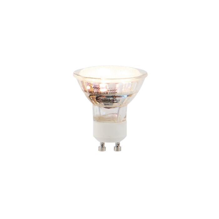 GU10-LED-Lampe-3W-250LM-2200K