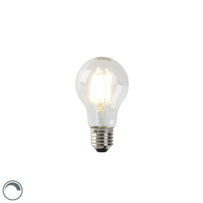 E27-dimmbare-LED-Glühlampe-A60-7W-806-lm-2700K-klar