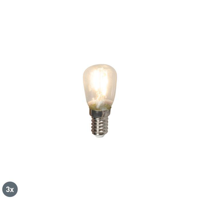 3er-Set-E14-LED-Leuchtmittel-T26-1W-100lm-2700-K