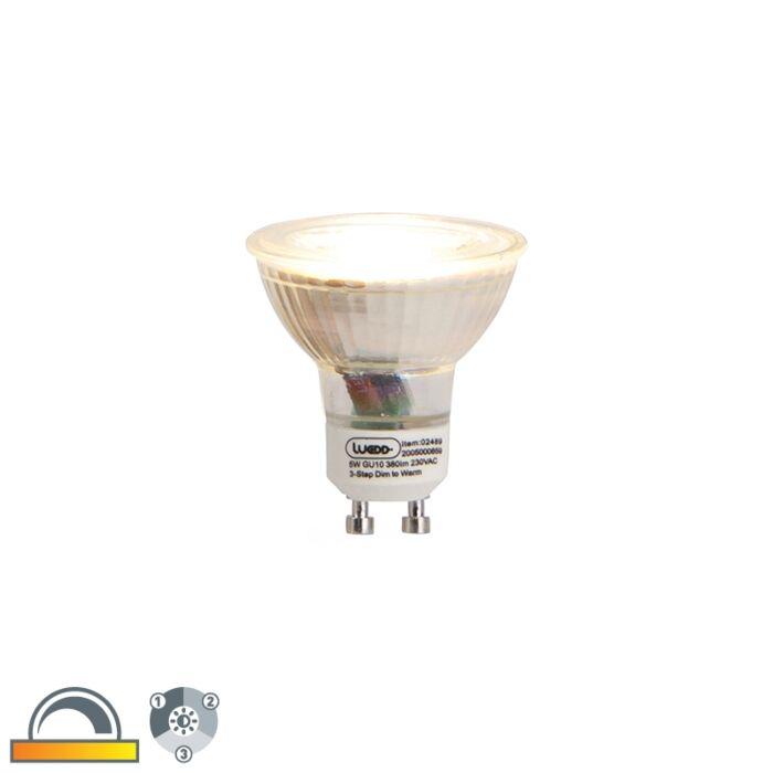 GU10-3-stufige-LED-Lampe-zum-Dimmen-5W-380-lm-2000-2700K