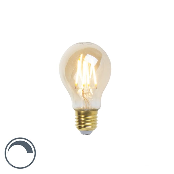 LED-Goldline-Glühlampe-E27-5W-360lm-A60-dimmbar