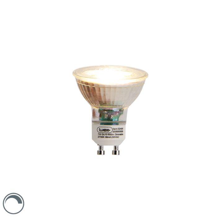 Dimmbare-LED-Lampe-GU10-7W-2700K