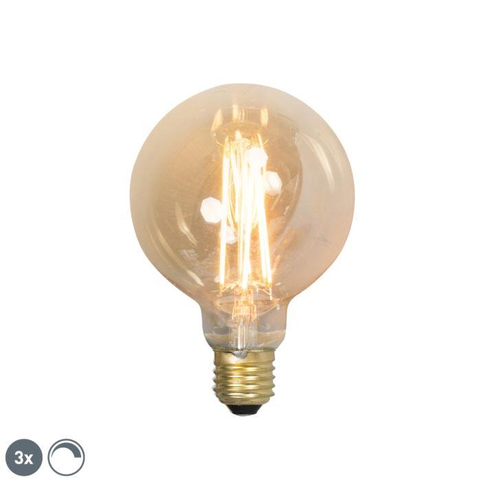 3er-Set-E27-dimmbare-LED-Lampen-G95-goldline-2100K