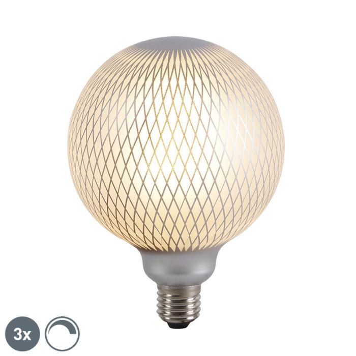 Set-mit-3-dimmbaren-LED-Globuslampen-E27-DECO-4W-320-lm-2700K