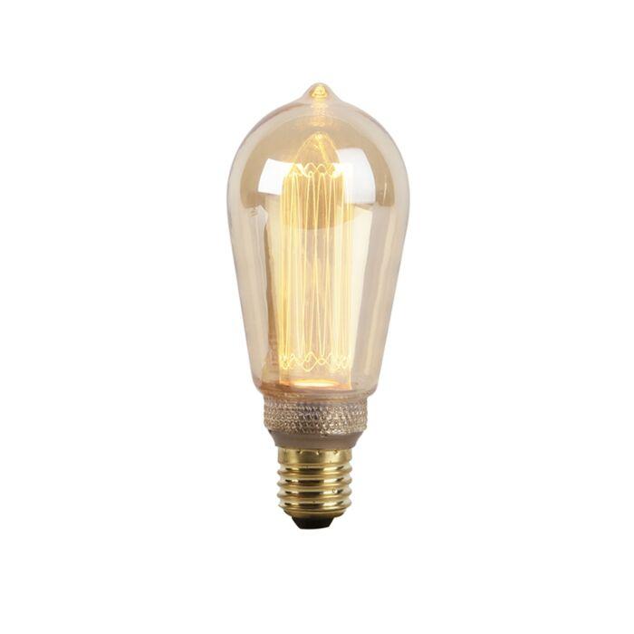 E27-LED-Glühlampe-Braunglas-2.5W-120lm-1800K