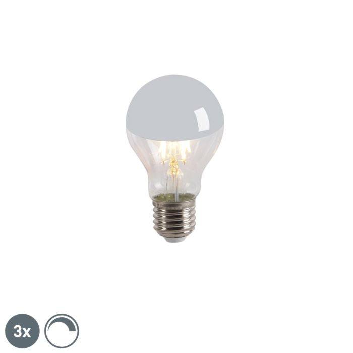 3er-Set-LED-Leuchtmittel-verspiegelt-E27-240V-4W-300lm-A60-dimmbar