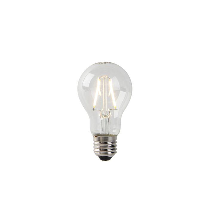 E27-LED-klare-Glühlampe-A60-2W-180-lm-2700K