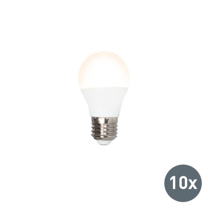 Set-aus-10-LED-Lampen-G45-E27-3W-3000K