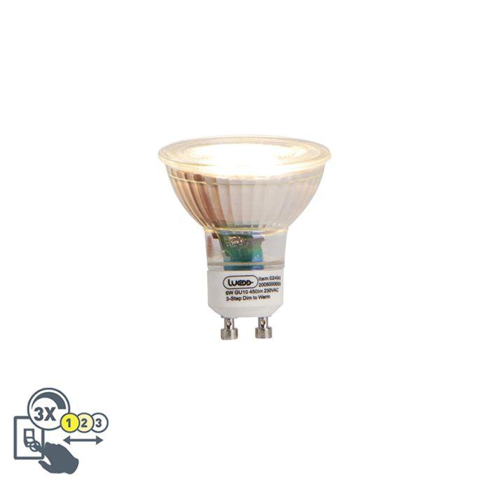 GU10-3-stufige-LED-Lampe-6W-450-lm