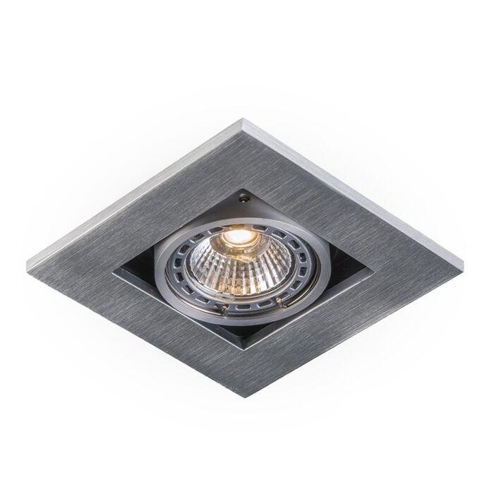 Set-aus-10-modernen-Einbaustrahlern-Aluminium-3-mm-stark---Qure
