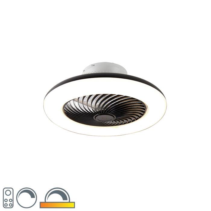 Deckenventilator-schwarz-inkl.-LED-mit-Fernbedienung---Clima