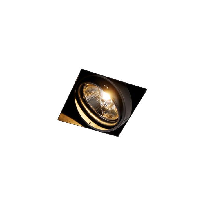 Einbaupunkt-schwarz-1-Licht-GU10-AR111-Trimless---Oneon
