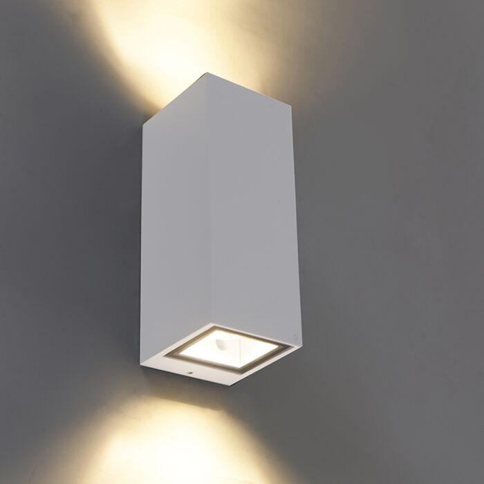 Moderne-Wandleuchte-weiß-GU10-AR70-IP54---Baleno-II