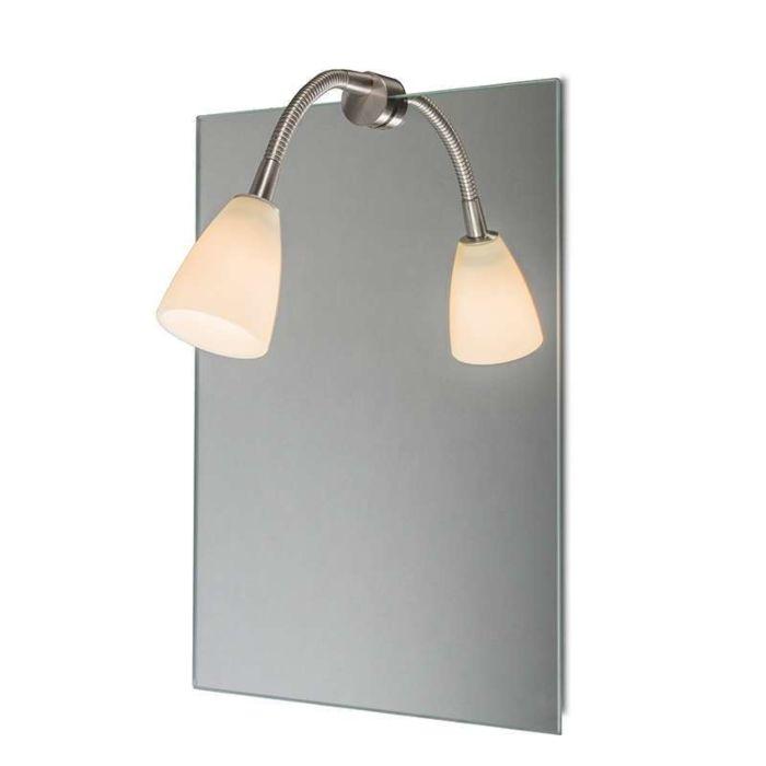 Spiegelleuchte-Curvus-Stahl