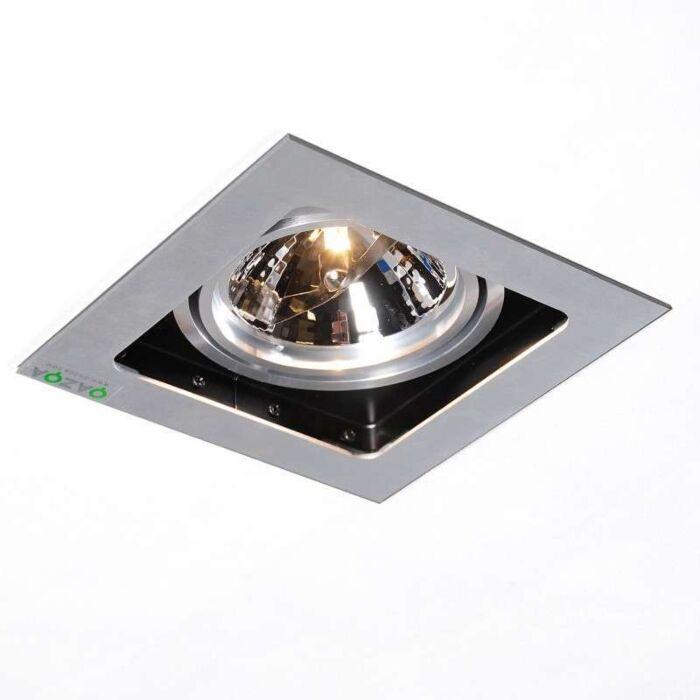 Einbaustrahler-Qure-1-Aluminium