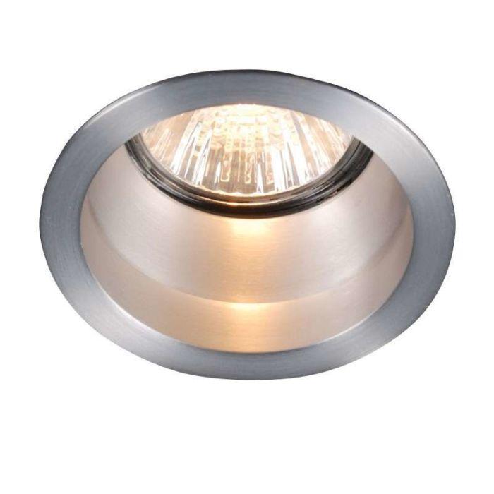 Einbaustrahler-Dept-Round-Basic-Aluminium
