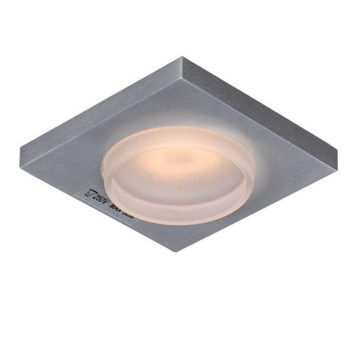 Badezimmer-Einbaustrahler-Spa-Glas-viereckig