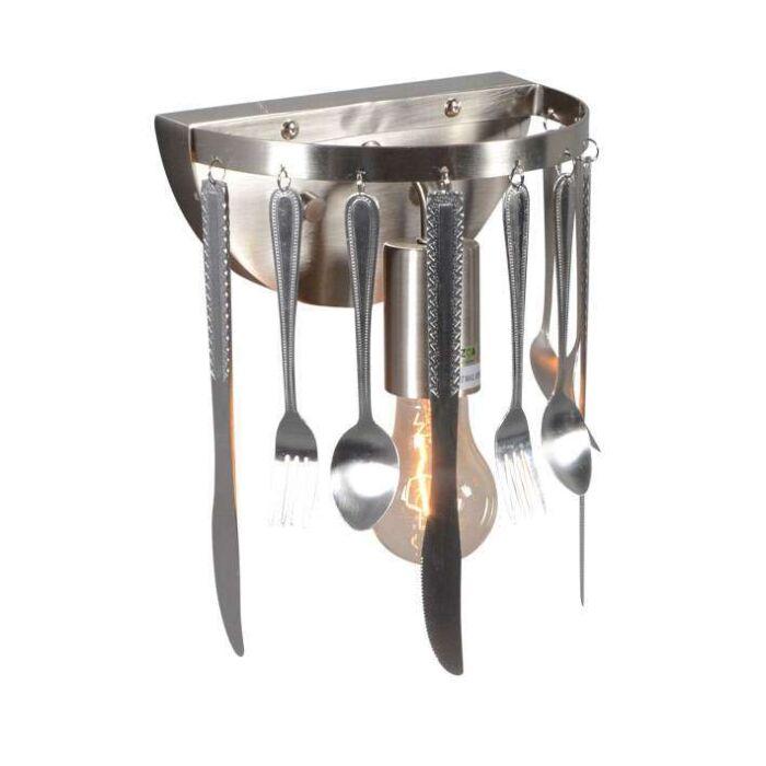 Wandleuchte-Kitchen-Stahl