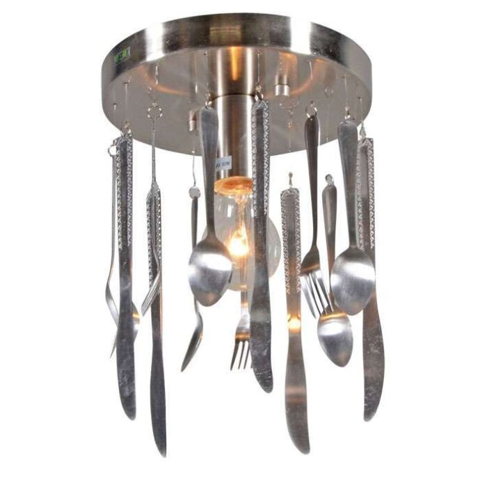 Deckenleuchte-Kitchen-Stahl
