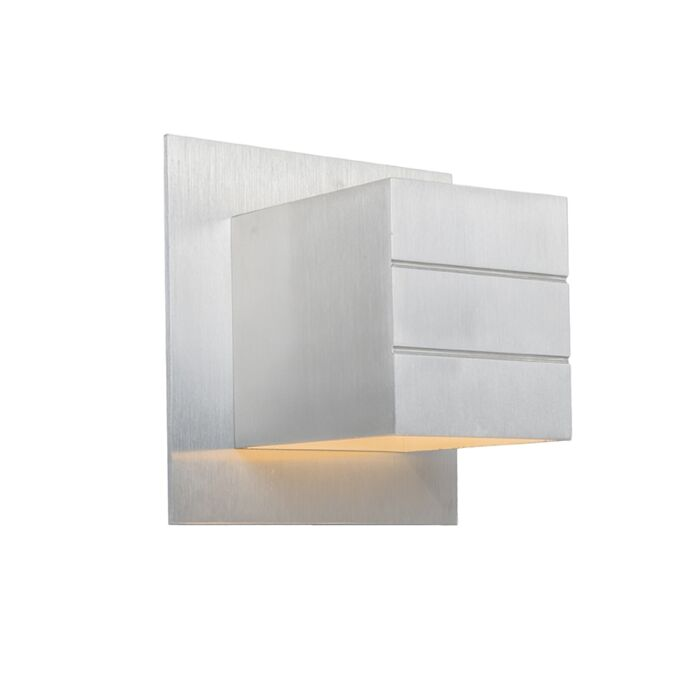 Moderne-Wandleuchte-aus-Aluminium---Ypsilon