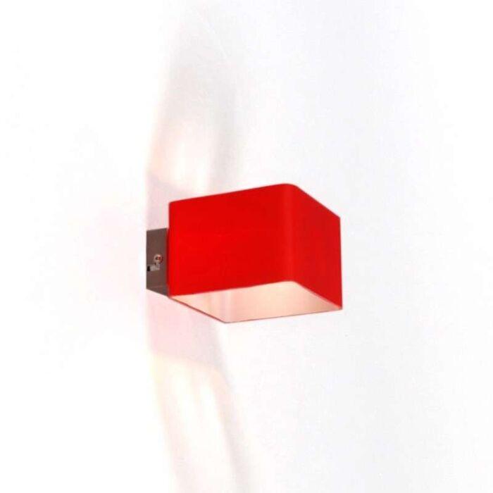Wandleuchte-Nova-Rot