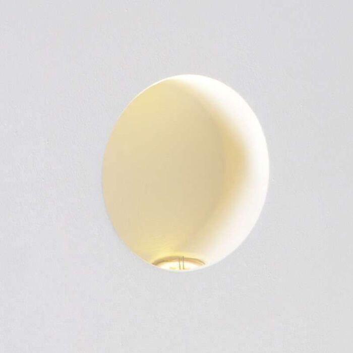 Einbaustrahler-Wand-Zero-rund-LED