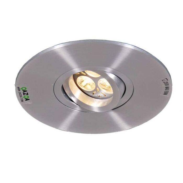 Einbaustrahler-Rondoo-1-XL-Aluminium