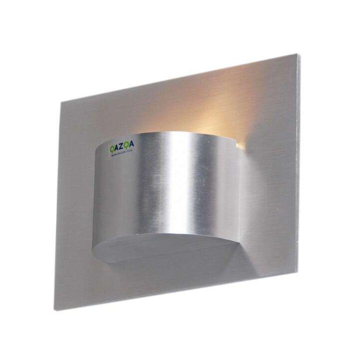 Wandleuchte-Oko-1-Aluminium
