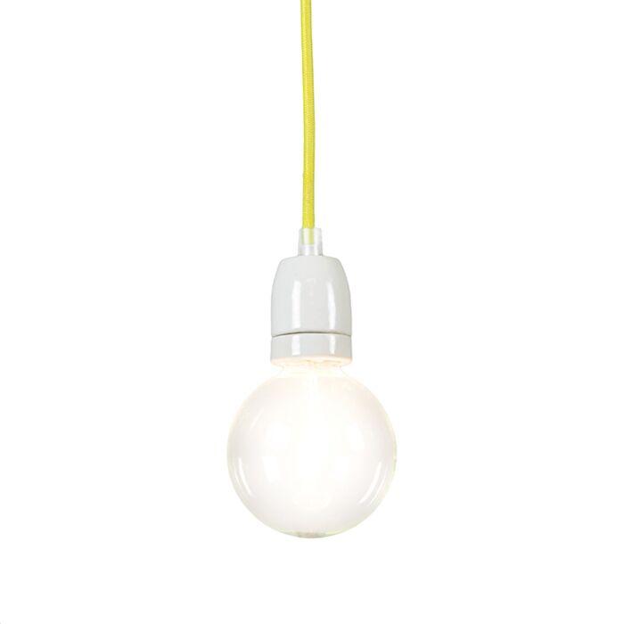 Pendelleuchte-Cavo-gelb