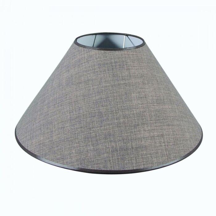 Lampenschirm-50/17/25-graubraun