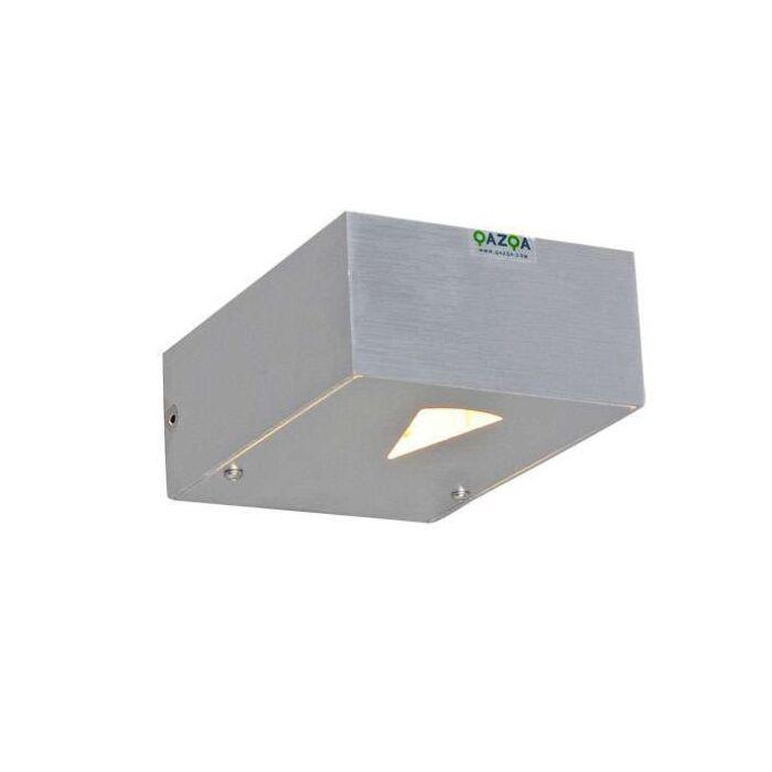 Wandleuchte-Hide-Rechteck-Aluminium