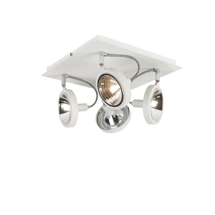 Design-Spot-weiß-4-flammig-einstellbar---Nox