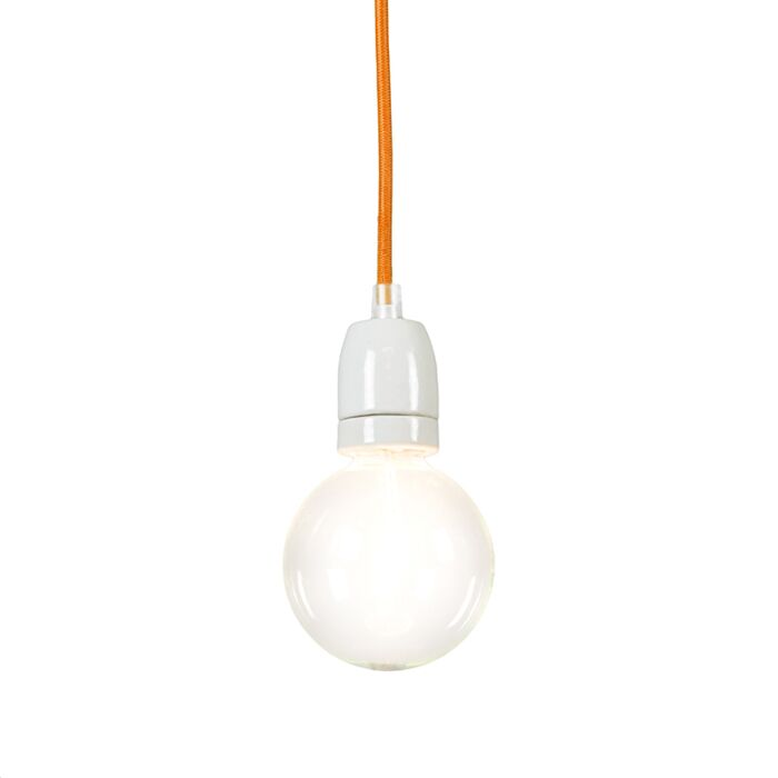 Pendelleuchte-Cavo-orange