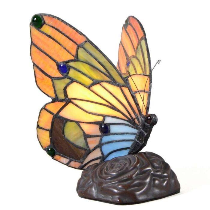 Tiffany-Tischleuchte-Butterfly