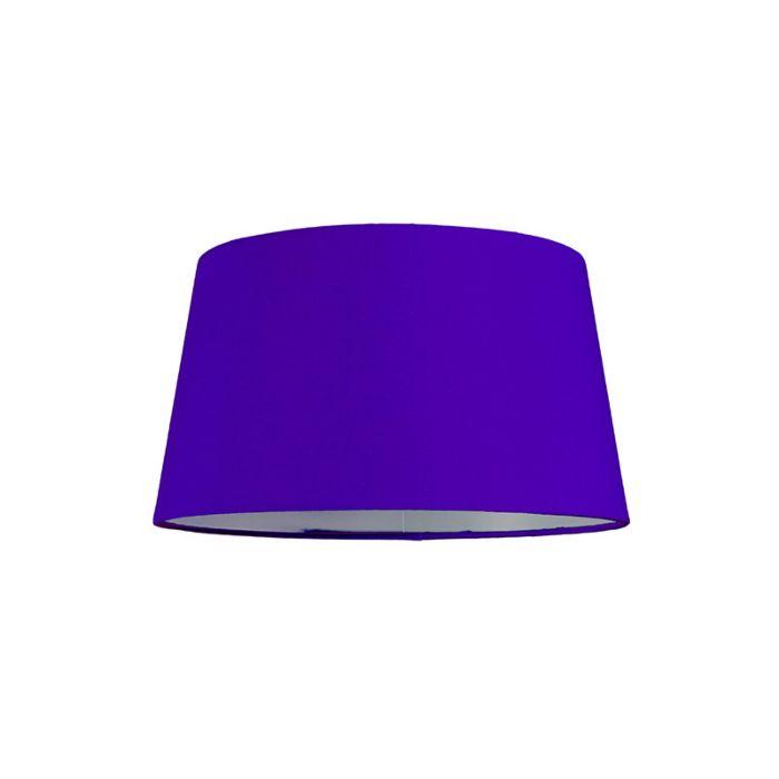 Lampenschirm-30cm-rund-violett