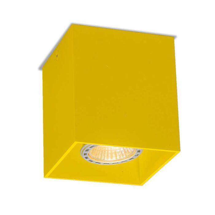 Deckenstrahler-Qubo-1-gelb