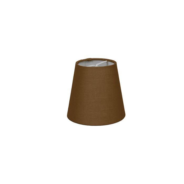Klemmschirm-12cm-rund-SC-braun