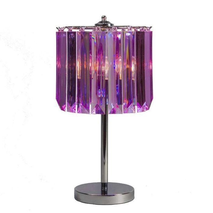 Tischleuchte-Shine-violett
