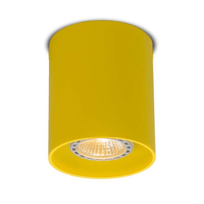 Deckenstrahler-Tubo-1-gelb